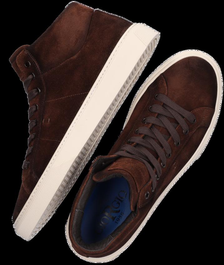 Bruine GIORGIO Hoge sneaker 31811  - larger