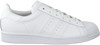 Witte ADIDAS Lage sneakers SUPERSTAR DAMES  - small