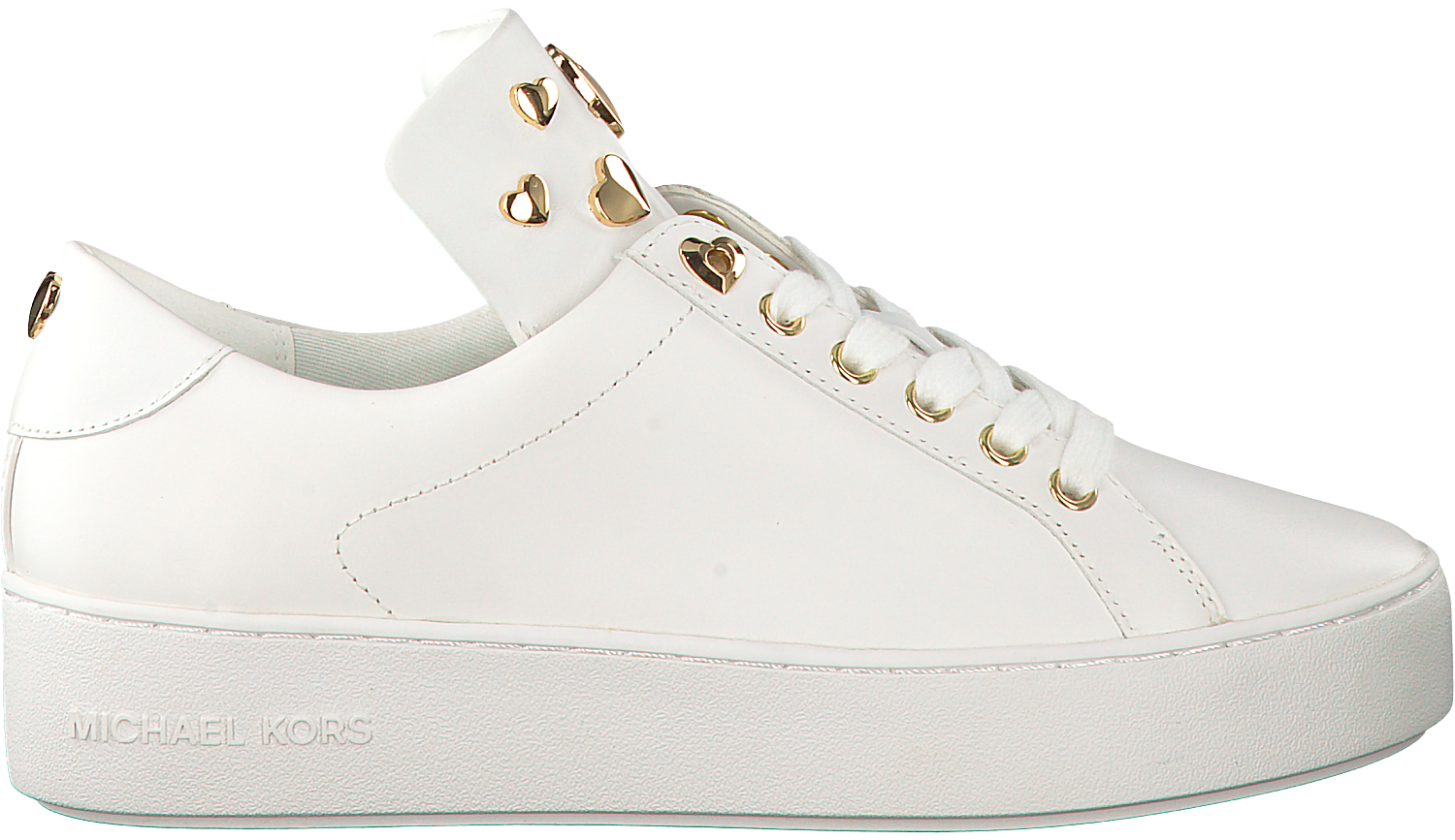 4a31c83fc47 Witte MICHAEL KORS Sneakers MINDY LACE UP - large. Next