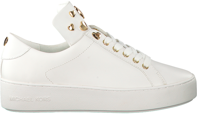 Witte MICHAEL KORS Sneakers MINDY LACE UP - large