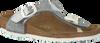 Zilveren BIRKENSTOCK PAPILLIO Slippers GIZEH KIDS  - small