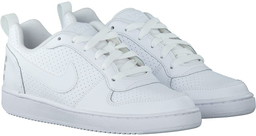 Witte NIKE Sneakers COURT BOROUGH LOW (GS) - larger