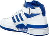 Witte ADIDAS Sneakers FORUM MID J  - small