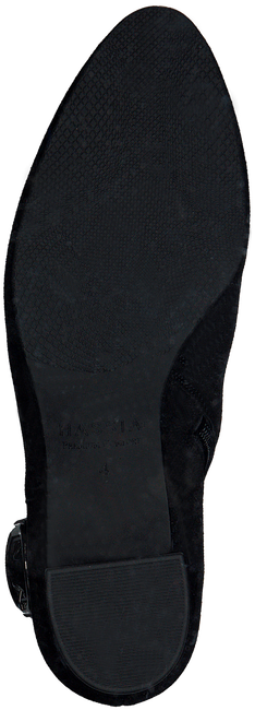 Zwarte HASSIA Enkellaarsjes SIENA  - large