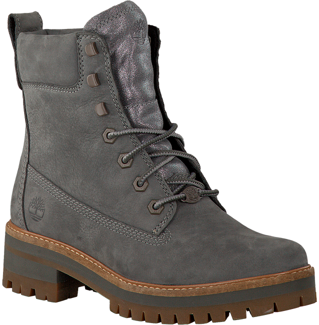 Grijze TIMBERLAND Veterboots COURMAYEUR VALLEY YB  - large