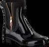 Zwarte TOMMY HILFIGER Regenlaarzen MATERIAL MIX RAIN BOOT - small