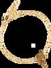 Gouden ALLTHELUCKINTHEWORLD Armband ELEMENTS BRACELET FLAMINGO - small
