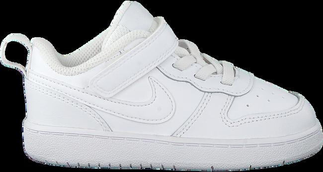 Witte NIKE Lage sneakers COURT BOROUGH LOW 2 (TDV)