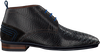 Zwarte FLORIS VAN BOMMEL Nette schoenen 10960  - small