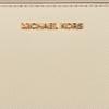 Beige MICHAEL KORS Portemonnee LG FLAT MF PHN CASE  - small