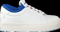 Witte SHABBIES Enkellaarsjes SHK0024  - medium