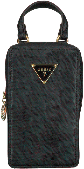 Zwarte GUESS Portemonnee 52RW8386 P020  - large
