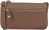 Taupe BY LOULOU Schoudertas 11BAG107S - small