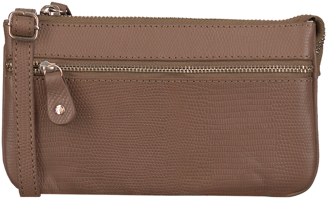 Taupe BY LOULOU Schoudertas 11BAG107S - large