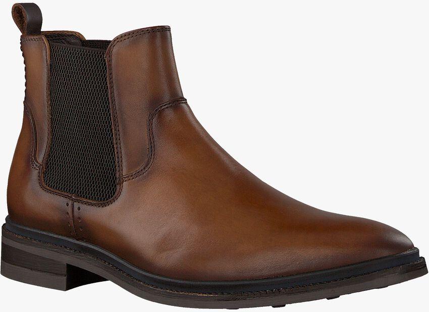 Cognac MAZZELTOV Chelsea boots MBURGO603.01OMO1  - larger