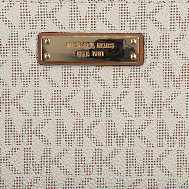 Beige MICHAEL KORS Portemonnee TRAVEL CONTINENTAL - large