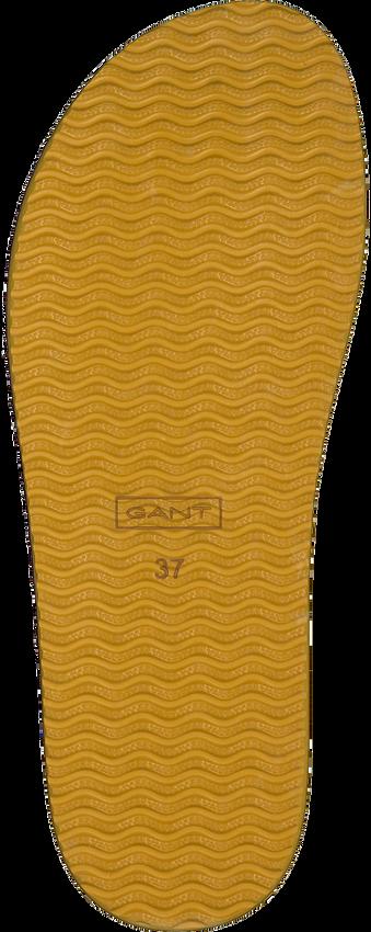 Cognac GANT Teenslippers FLATVILLE  - larger