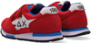 Rode SUN68 Lage sneakers BOYS NIKI NYLON SOLID  - small