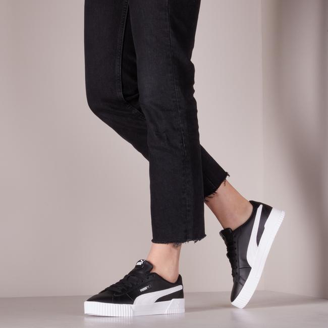 Zwarte PUMA Lage sneakers CARINA - large