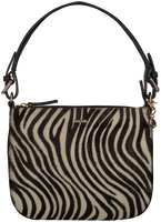 Zwarte LOULOU ESSENTIELS Schoudertas 91BAG WILD  - medium