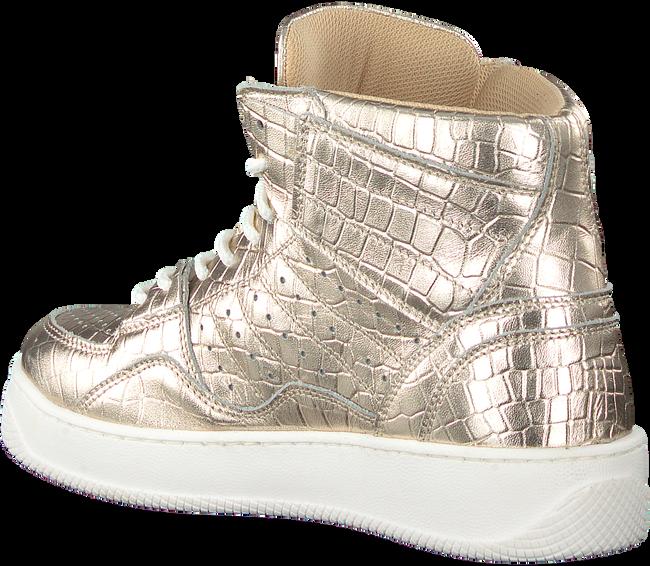 Gouden TORAL Hoge sneaker 12406  - large