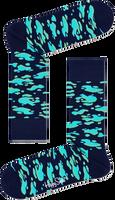 Blauwe HAPPY SOCKS Sokken PUDDLE SOCK  - medium