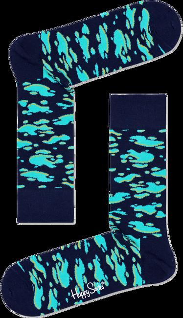Blauwe HAPPY SOCKS Sokken PUDDLE SOCK  - large