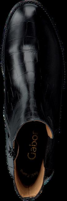 Zwarte GABOR Chelsea boots 650  - large