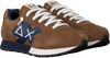 Bruine SUN68 Lage sneakers BOYS JAKI SOLID PATCH  - small