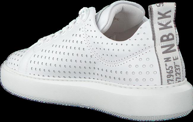 Witte NUBIKK Sneakers ROX PERFO  - large