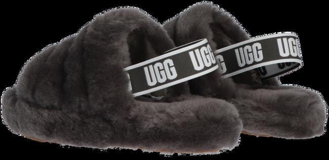 Grijze UGG Sandalen FLUFF YEAH SLIDE  - large