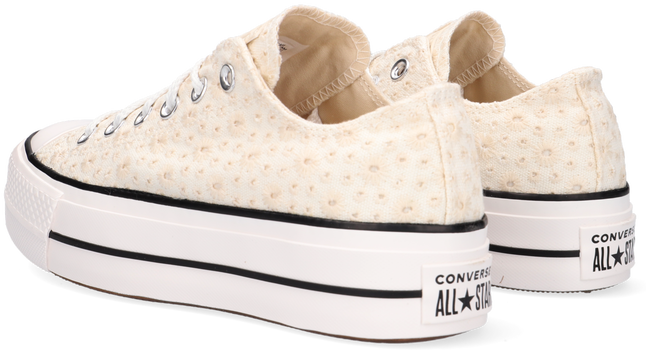 Witte CONVERSE Lage sneakers CHUCK TAYLOR ALL STAR LIFT OX  - large