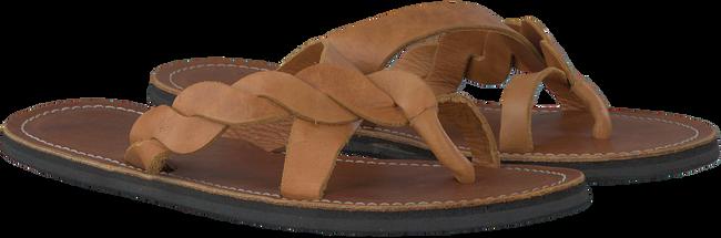 Cognac OMODA KUBUNI Slippers SLIPPER BRAID  - large