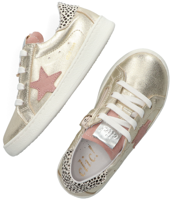 Gouden CLIC! Lage sneakers CL-20305  - large