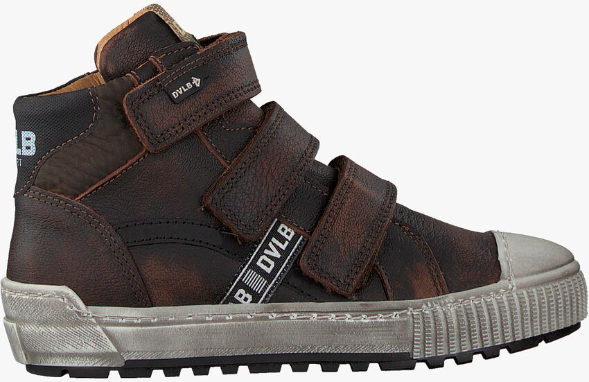 Bruine DEVELAB Hoge sneaker 41669  - larger