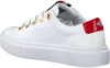 Witte TOMMY HILFIGER Lage sneakers LEATHER ELEVATED TOMMY  - small