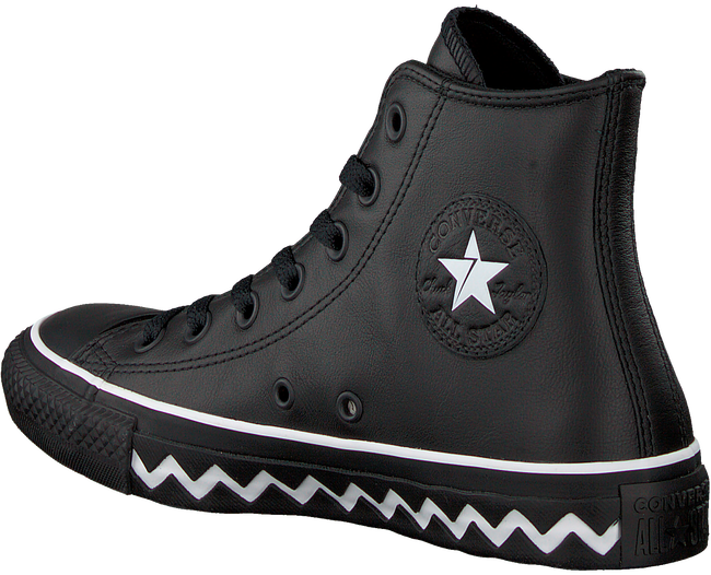 Zwarte CONVERSE Sneakers CHUCK TAYLOR ALL STAR HI DAMES  - large