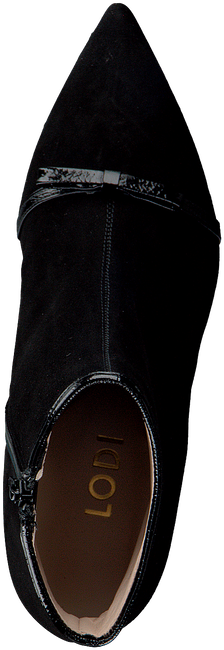 Zwarte LODI Enkellaarsjes MADUR  - large