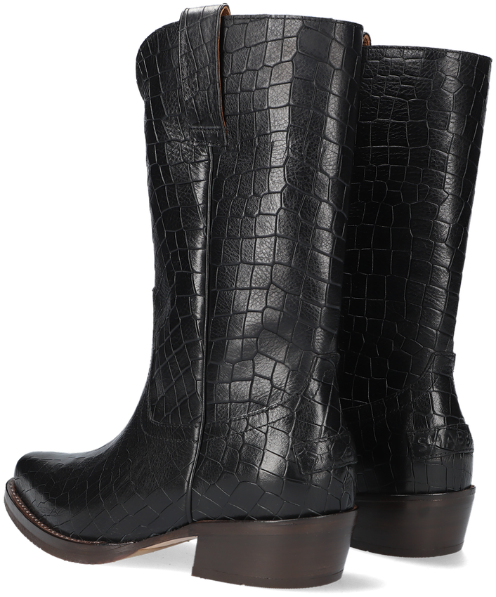 Zwarte SHABBIES Hoge laarzen 192020110  - larger