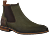 Groene BRAEND Chelsea boots 24601 - small