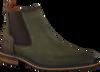 Groene BRAEND Chelsea boots 24601 - small