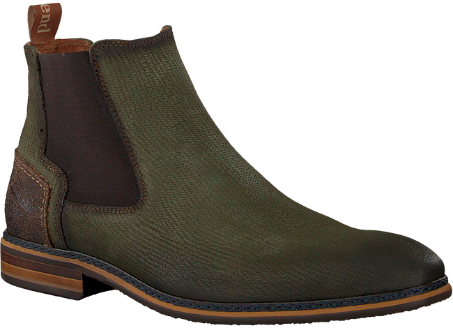 Groene BRAEND Chelsea boots 24601 - large
