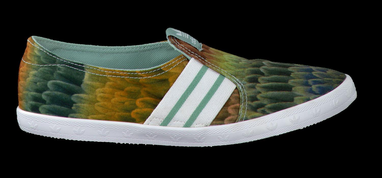 adidas slip on groen