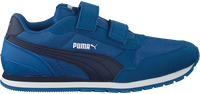Blauwe PUMA Lage sneakers ST RUNNER V2 MESH J  - medium