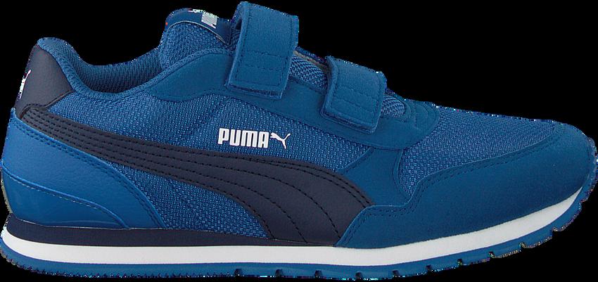 Blauwe PUMA Lage sneakers ST RUNNER V2 MESH J  - larger