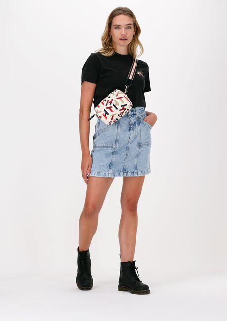 Zwarte TOMMY JEANS T-shirt TJW RLXD VINTAGE BRONZE 2 TEE - large