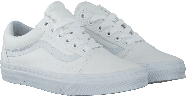 witte vans dames
