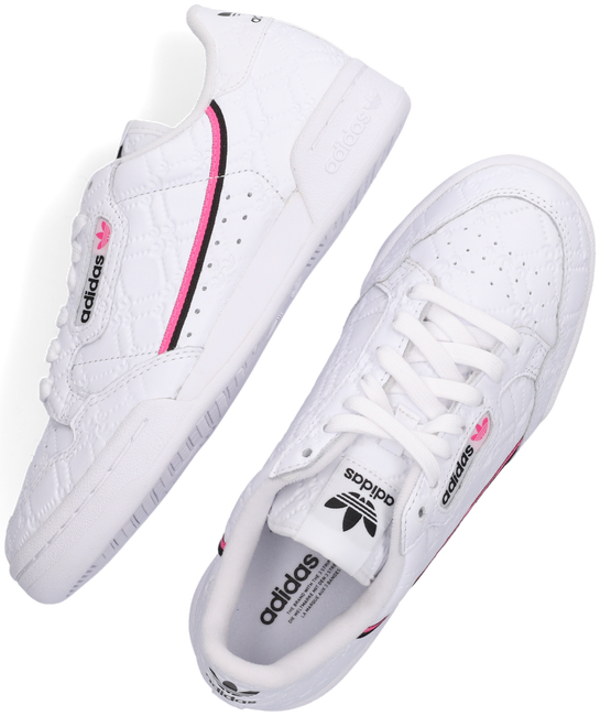 Witte ADIDAS Lage sneakers CONTINENTAL 80 W  - large