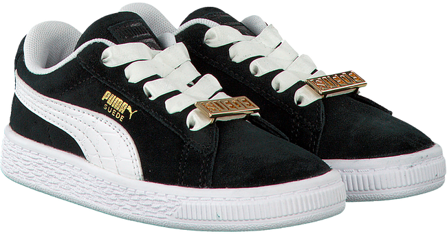Zwarte PUMA Sneakers SUEDE CLASSIC BBOY INF  - large