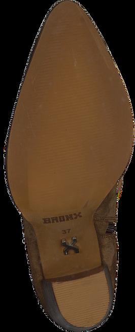 Bruine BRONX Enkellaarsjes NEW-AMERICANA 34150  - large